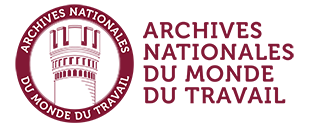 Archives nationales du monde du travail logo
