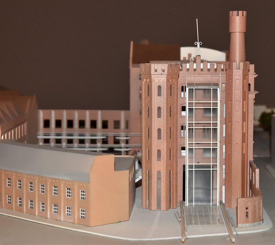 Photographie de la maquette du projet.