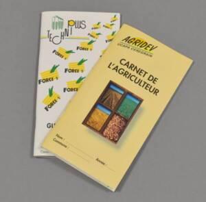 Guides de cultures édités par des coopératives agricoles, fin années 1990 -  début années 2000.