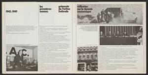 « Depuis 30 ans » : brochure promotionnelle de l'UNCAC, 1975.