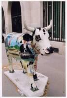 Une « vach'art » de la « Cow Parade » de Paris, 2006.