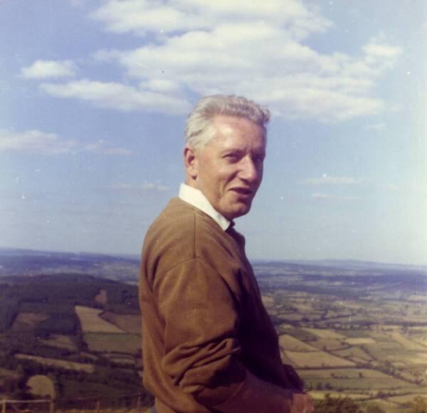 Portrait de Bertrand Gille, 1962.