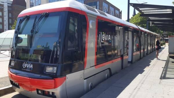 "Station ""eurotéléport"" du tramway"