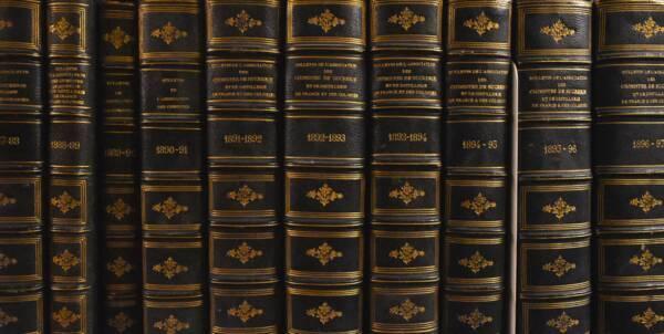 Etagère de la bibliothèque